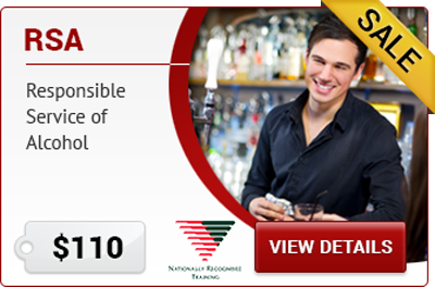 RSA NSW Responsible Service of Alcohol